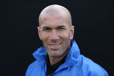 A football legend visits Surrey Sports Park Zinedine Zidane