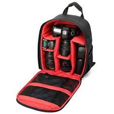 Bestshoot Video photo camera Bag Camera Dslr Bag Waterproof backpack DSLR Camera Bag Backpack Video Photo Bags for canon/nikon camera