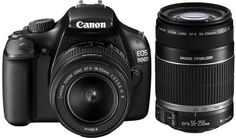Canon EOS 1100D is one of the finest economical SLR cameras in the market today. The multiple features in this camera are quite supportive for those who are relatively new to SLRs.