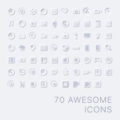 70 Premium App Icons Neomorph edition iPhone iOS14 | Etsy Music Clock, Weather Icons, The Computer, Custom Icons, Iphone 10, User Interface Design, Etsy App, Facetime, App Icon