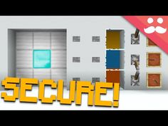 How to make a Bank Vault in Minecraft! - YouTube