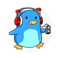 Listening To Music Cartoons On Pinterest Music Cartoon