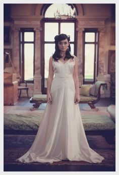 Cecelia 1920's inspired Bridal Gown.