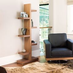 Branch bookcase walnut