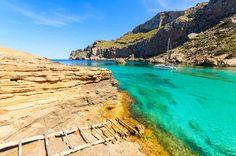 Cala Figuera de Pollensa -Mallorca en la peninsula de Formentor