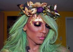 Weeping Willow Tree Art Wig $125 | Mother nature costume, Mother ...