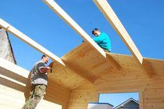 Ako sme stavali záhradný domček - Dielňa prakticky