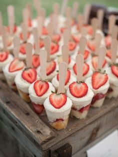 2015 Wedding Trend - Personalisation. Mini desserts are hot, read what else is: http://www.boutiquebridalconcepts.com/blog/personalisation-main-wedding-trend-for-2015