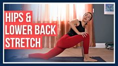 30 min Beginner Yoga - Hips & Lower Back DEEP STRETCH