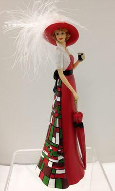 """Coca-Cola - """"Refreshment of Coca Cola"""" - Uniquely Fresh Lady Figurine"""