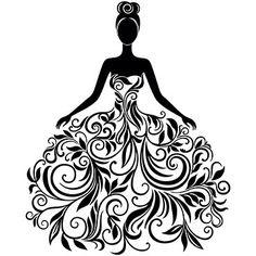 Bridal princess dress