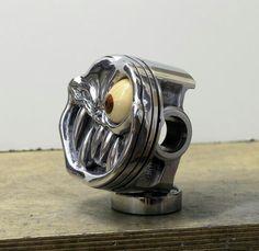 Sculpted Piston Shift knob