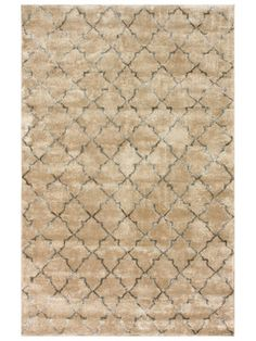Tristen Trellis Hand-Knotted Rug by nuLOOM on Gilt Home