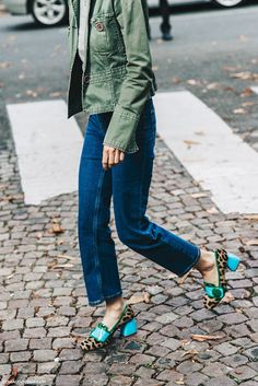 Cool Chic Style Fashion: Street Style | Paris Fashion Week by Collage Vintage