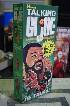 James W., MA - needed a leader for his GI JOE team and went for the Talking Commander box!