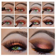 Tanna you need to do this!| Eye of the Tiger Tutorial: (Using all Mac cosmetics unless stated otherwise)...