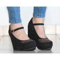 Stilletto De Cuero Crudo Modelo 2015 Loreley De Shoes Bayres ... d8484a6cf7f1