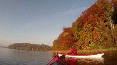"""""""Herbst im Farbrausch"""" statt """"Indian Summer"""": Die Feldberger Seenplatte im Oktober. Paddelgebiet: Schmaler Luzin, breiter Luzin, Haussee, Dreetzsee, Krüselinsee, Carwitzer See, kleiner Mechowsee, großer Mechowsee, Mühlteich"""