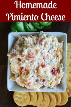 Best Appetizer Recipes, Cheese Appetizers, Best Appetizers, Appetizer Ideas, Dip Recipes, Cheese Recipes, Summer Recipes, Easy Recipes, Snack Recipes