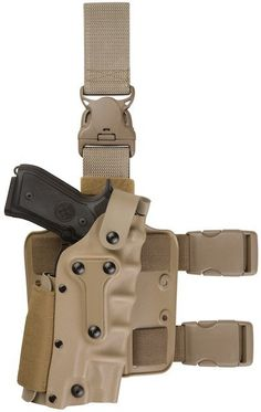 Tactical Holster Airsoft Gear Tan Right Left Leg Gun Holster for Gl 17 / 1911 M92 M9 SIG P2022 P226