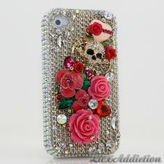 Style 442 Now only $59.92) This Bling case can be handcrafted for iPhone 4/4S, 5, 5S, all Samsung Galaxy models (S3, S4, Note 2, 3). Our professional designers will handcraft a case for you in as little as 2 weeks. Click image for direct link