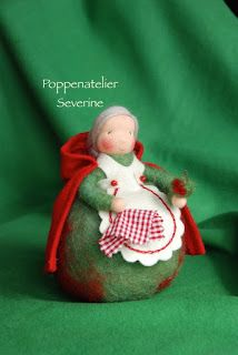 Het Appelvrouwtje Natural Toys, Sarah Kay, Nature Table, Seasons, Dolls, Pop, Christmas Ornaments, Patterns, Holiday Decor
