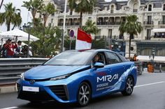 TOYOTA MIRAI during the 2016 Formula One World Championship, Grand Prix of Monaco from on May 25 to 29 ,in Monaco - Photo Gregory Lenormand / DPPI