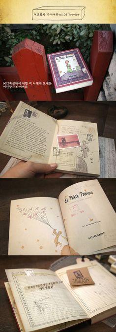 Beautiful Le Petite Prince diary
