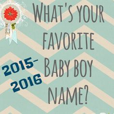 "Comment your favorite boy names as we gear up for our ""Best Boy names of 2015-16!"" blog! Maybe yours will be featured on our list! Win a prize if it makes it on our top 25! We will pick one winner! #pregnancy #boynames #babynames #1sttrimester #2ndtrimester #contest #repintowin #genderprediction #blogger #pregnancyblog #freebie"