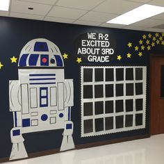 1000 ideas about star wars classroom on pinterest for Decoration porte star wars
