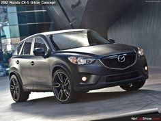 Love the matte black look. Maybe ill get my 2014 Mazda CX-5 wrapped.  #Mazda #CX5 #3M #Vinyl