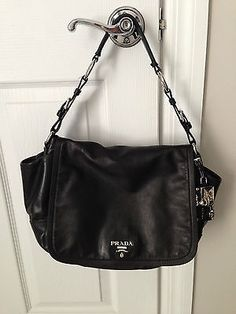 AUTHENTIC BLACK PRADA HANDBAG