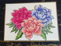 Peonies Bouquet, Peony, Altenew Cards, Heartfelt Creations, Pretty Cards, Flower Cards, I Card, Handmade Cards, Cardmaking