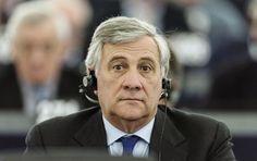 Antonio Tajani sustituye a Martin Schulz en el Parlamento Europeo