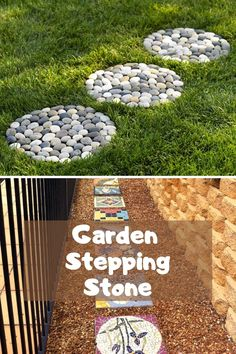 Amazing DIY Garden Stepping Stone Ideas #gardensteppingstones Garden Steps, Easy Garden, Amazing Gardens, Beautiful Gardens, Garden Stepping Stones, Portland Cement, Outdoor Learning, Backyard Projects, Outdoor Benches