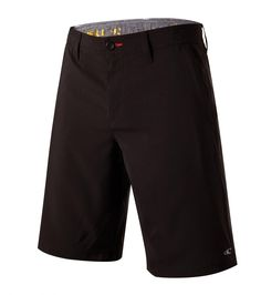 O'Neill men's camo print hybrid shorts Outseam Hyperfreak Stretch Triblend Zipper Fly Internal waistband drawcord Front hand pockets with zippers Polyester / Cott Golf Fashion, Camo Print, Bermuda Shorts, Golf Style, Men, Black, Black People, Golf Outfit, Guys