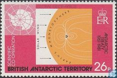 Postage Stamps - British Antarctic Territory - 20 years Antarctic Treaty