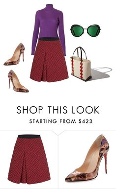 """""""Untitled"""" by fab2fab ❤ liked on Polyvore featuring Christian Louboutin and Manolo Blahnik"""