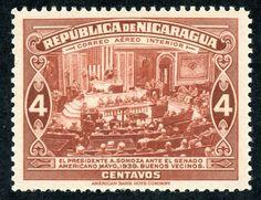 1940 Nicaragua Air Post