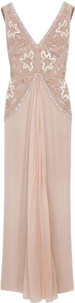 TEMPERLEY LONDON Camille Beaded Gown