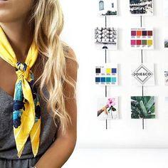 Seguimos con el SALE  primavera | verano.  Pañuelo satinado Paisley Amarillo 70x70. 💛💥 Hoy estamos de 16 a 20:30!. • • • . . . #moda #tendencia #instafashion  #love  #instamoda #tendencias #diseño #handmade #lookoftheday #model #fashion #estilo #trend #hechoamano #arte #design #hechoconamor #crafts #diy #decoracion #summer #vsco #vscocam #vscogood #instalike #photooftheday #cordoba