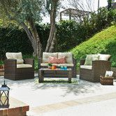 Found it at Joss & Main - 4-Piece Abigail Patio Seating Group
