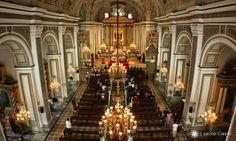 Inside San Agustin Church - City of Manila- Philippines