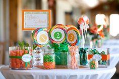Orange and Green Wedding Inspiration 7