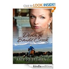 DEATH AT BANDIT CREEK (Bandit Creek Mystery): Finalist for Best Book Cover
