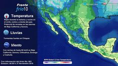 Prevé SMN ambiente frío y rachas de viento de hasta 60 km/h para Chihuahua | El Puntero