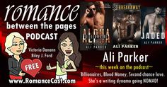 This Weeks Podcast from the ladies of Romance Between the pages Is Author Ali Parker  Ever wondered about the personalities behind your favorite books? Victoria Dananns new podcast with Riley J. Ford has an incredible lineup of authors booked through January. No question is out of bounds. Check it out!  THIS WEEKS BEST SELLING AUTHOR  ALI PARKER!  Ali Parker is a full-time contemporary romance writer who left a life in Corporate America to try living a dream. She loves coffee watching a…