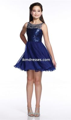 Bling 2016 A-Line Illusion Neckline Chiffon Sequin Bodice Short Teen Party Dress http://www.ikmdresses.com/Bling-2016-A-Line-Illusion-Neckline-Chiffon-Sequin-Bodice-Short-Teen-Party-Dress-p91810