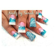 The flare nails are gross! Buy love the design! Colorful Nail Designs, Acrylic Nail Designs, Nail Art Designs, Acrylic Nails, Nails Design, Acrylics, Hot Nails, Hair And Nails, Duck Feet Nails