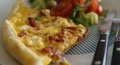 Découvrez cette délicieuse quiche au Kiri et lardons, super facile et super gourmande ! #kiri #recette #quiche #lardon #gourmand